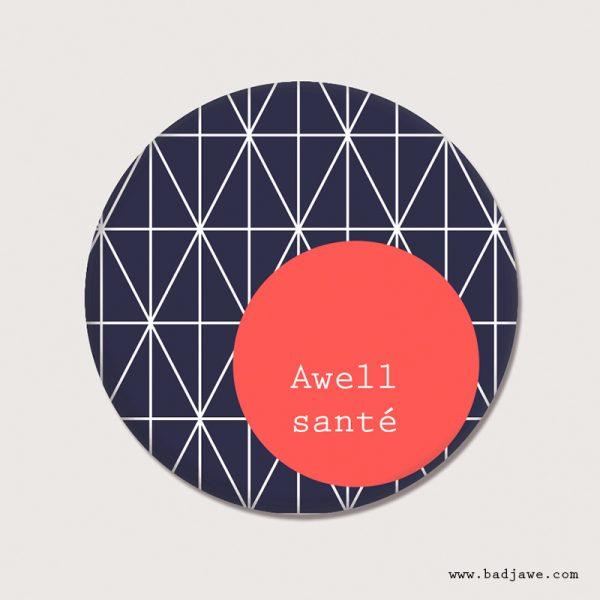 Aimant - Awell santé - Brusseleer