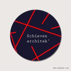 Aimant - Schieven architect - Brusseleer