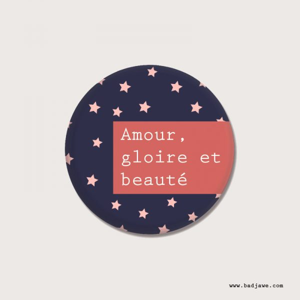 Badges - Amour