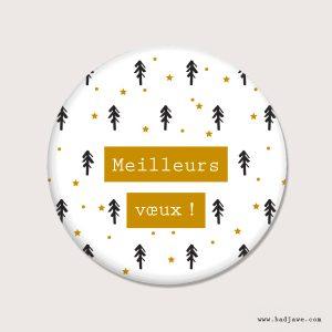Aimants - Meilleurs vœux - Français