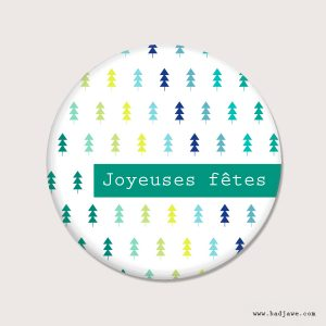 Aimants - Joyeuses fêtes - Français