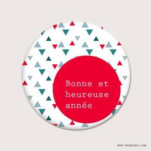 Aimants - Bonne et heureuse année - Français