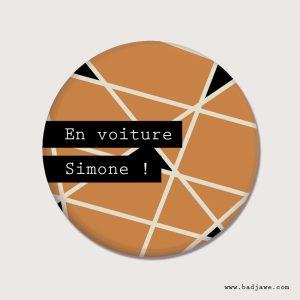 Aimant - En voiture Simone ! - Français