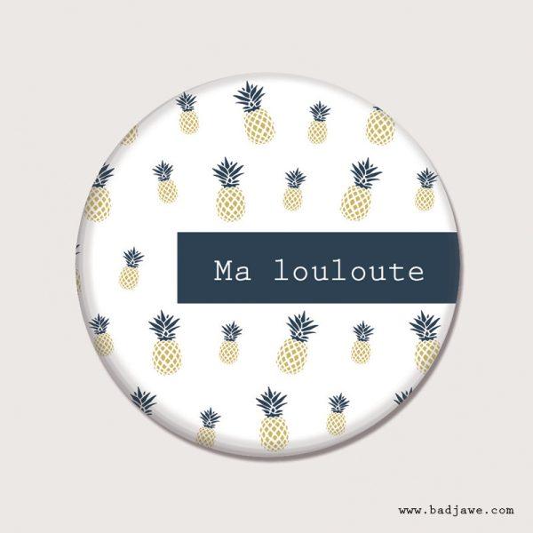 Aimant - Ma louloute - Français
