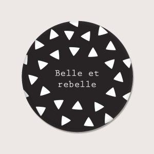 Aimants - Belle et rebelle - Français