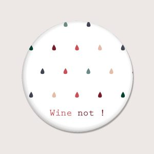 Aimants - Wine not - Anglais