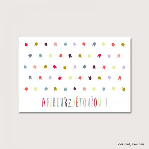 Cartes Postales - Apibeurzdétouïou - Français