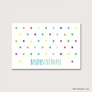 Cartes Postales - Bisousthérapie - Français