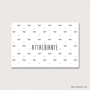 Cartes Postales - Attachiante - Français