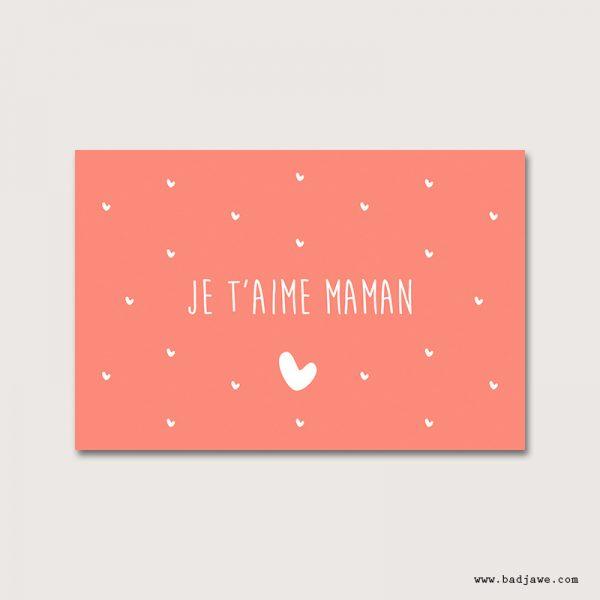 Cartes Postales - Tu es dans mon coeur - Français