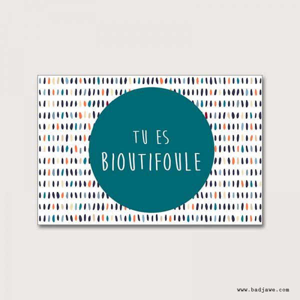 Cartes Postales - Tu es bioutifoule - Français