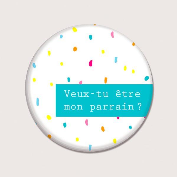 Aimants - Veux tu être mon parrain ? - Français