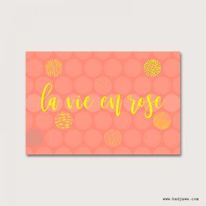 Cartes Postales - Paris : La vie en rose - Paris