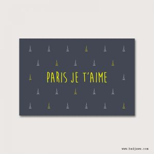 Cartes Postales - Paris Je t'aime - Paris