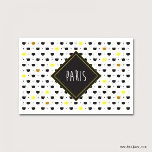 Cartes Postales - Paris petits chats - Paris