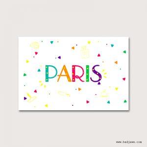 Cartes Postales - Paris : baguette