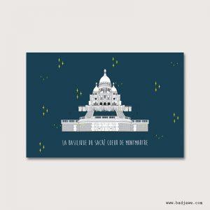 Cartes Postales - Paris : Basilique du Sacré-Cœur de Montmartre - Paris