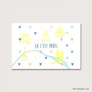 Cartes Postales - Ca c'est Paris : Moulin Rouge