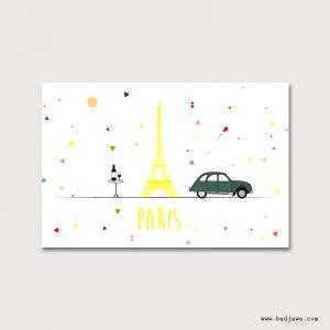Cartes Postales - Paris : vin