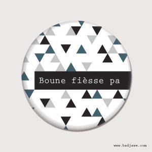 Porte-clés - Boune fièsse pa - Wallon-Charleroi