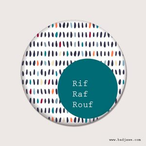 Aimants - Rif Raf Rouf - Wallon Liège