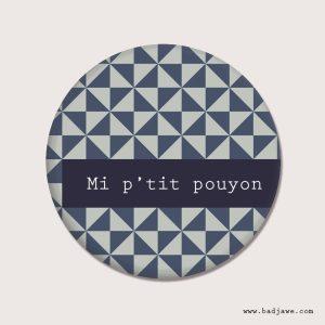 Aimant - Mi p'tit pouyon ! - Wallon-Namur